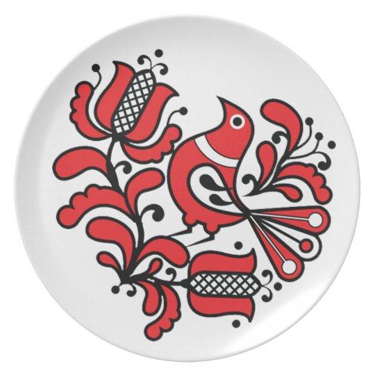 OPUS Hungarian Bird Dinner Plate