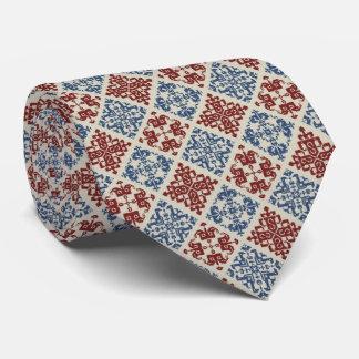 OPUS Hungarian Cross Stitch Neck Tie