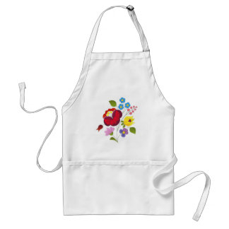 OPUS Hungarian Flower Embroidery Adult Apron