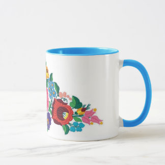 OPUS Hungarian Flower Embroidery Mug