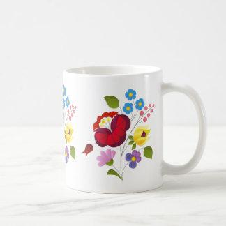 OPUS Hungarian Flower Embroidery Coffee Mug