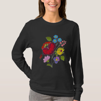 OPUS Hungarian Flower Embroidery T-Shirt