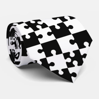 OPUS Jigsaw Puzzle Pieces - Double Sided Tie