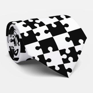 OPUS Jigsaw Puzzle Pieces Neck Tie