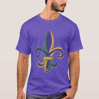 OPUS Mardi Gras Fleur De Lis T-Shirt