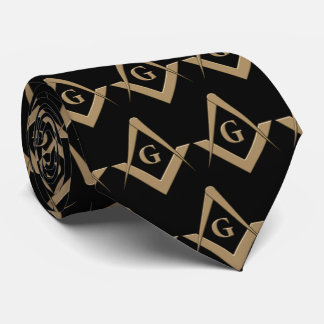 OPUS Masonic Symbol Neck Tie
