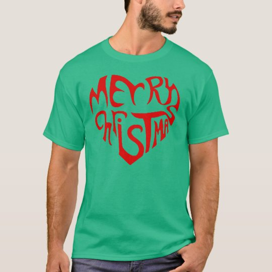 OPUS Merry Christmas Heart T-Shirt