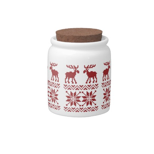OPUS Merry Moose Candy Dish