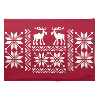 OPUS Merry Moose Cloth Place Mat