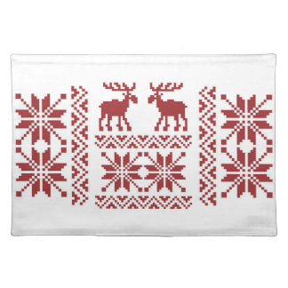 OPUS Merry Moose Cloth Placemat