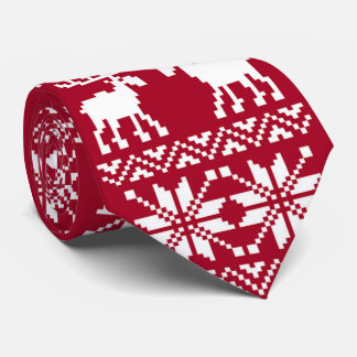 OPUS Merry Moose - Double Sided Tie