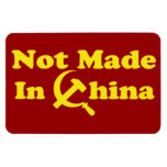 OPUS no hecho en China Iman Rectangular