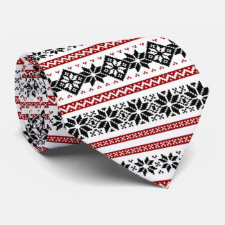 OPUS Nordic Embroidery Tie