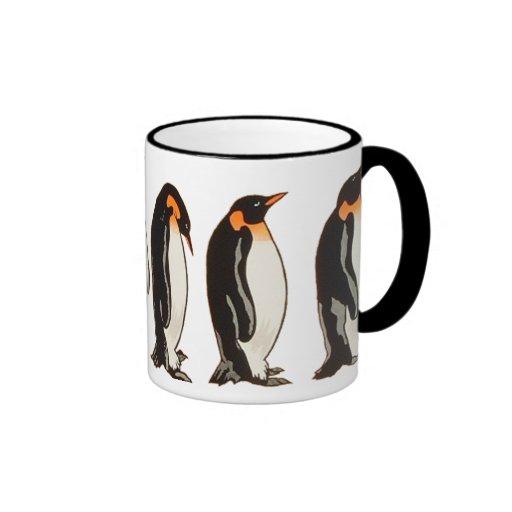 OPUS Penguin Ringer Coffee Mug