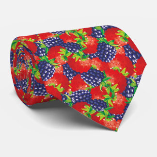 OPUS Raspberry and Blackberry Tie