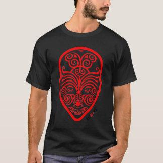 OPUS Red Maori Face Tattoo T-Shirt