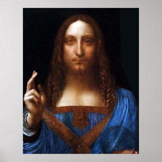 Opus Salvator+Mundi a Magistro Leonardo da Vinci Poster