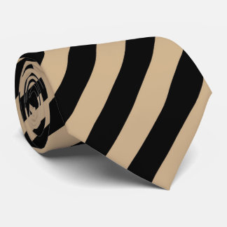OPUS Tan and black Tie
