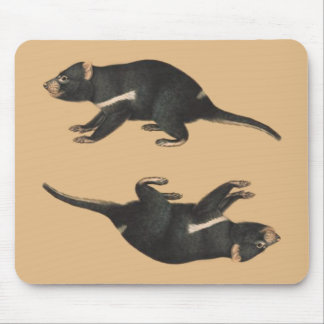 OPUS Tassie Devil: On the Edge of Extinction Mouse Pad
