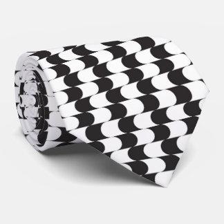 OPUS Tuxedo Style Black and White Tie