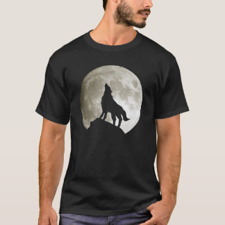 OPUS Wolf and Moon T-Shirt