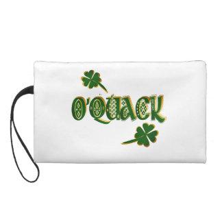 O'QUACK-Me fine Irish duck Wristlet Purse