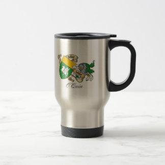 O'Quin Family Crest 15 Oz Stainless Steel Travel Mug