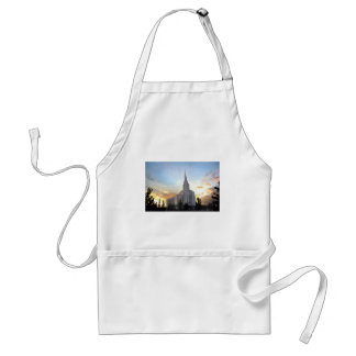 Oquirrh Mountain LDS Utah Temple sunset Adult Apron