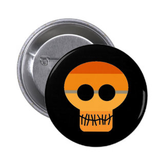 OR4NGES Skull Pin