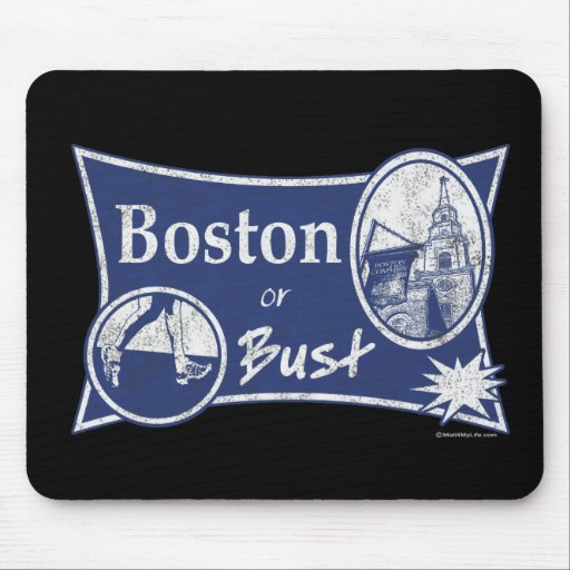or Bust Mouse Pad