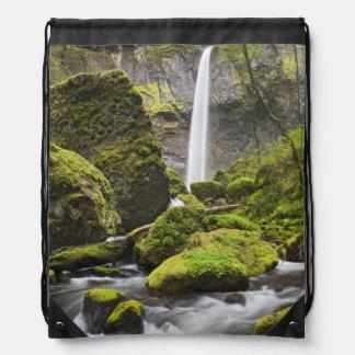 OR, Columbia River Gorge, Elowah Falls and Cinch Bag