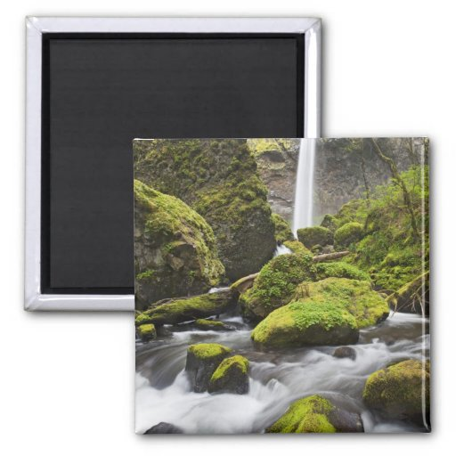 OR, Columbia River Gorge, Elowah Falls and Refrigerator Magnets