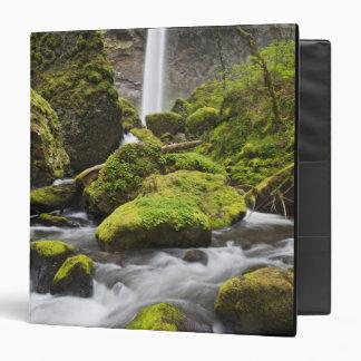 OR, Columbia River Gorge, Elowah Falls and Vinyl Binder