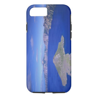 OR, Crater Lake NP, Wizard Island and Crater iPhone 7 Case