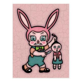 Or Else the Doll Gets It! Postcard