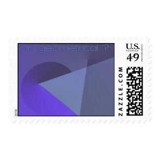 Or geometrical ? postage
