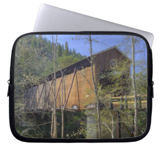 OR, Jackson County, McKee Covered Bridge 2 Computer Sleeve