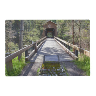 OR, Jackson County, McKee Covered Bridge Placemat