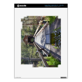 OR, Jackson County, McKee Covered Bridge Decals For iPad 3