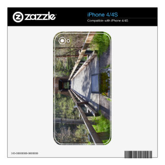 OR, Jackson County, McKee Covered Bridge Skin For iPhone 4S