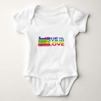 OR Live Let Love Baby Bodysuit