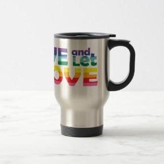 OR Live Let Love Travel Mug