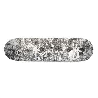 Or Noir by Hannah Stouffer Skateboard Deck