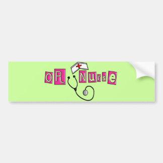 OR Nurse Gifts Bumper Sticker