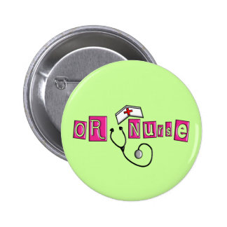 OR Nurse Gifts Buttons