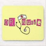 OR Nurse Gifts Mousepads