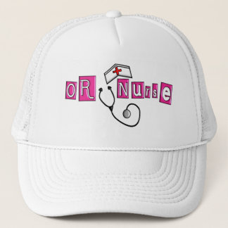 OR Nurse Gifts Trucker Hat