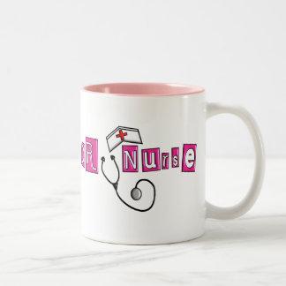 OR Nurse Gifts Two-Tone Coffee Mug