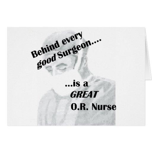 OR Nurse Greeting Card