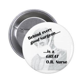 OR Nurse Pinback Button